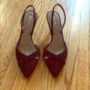 Reiss Ivy Slingback Court Shoe